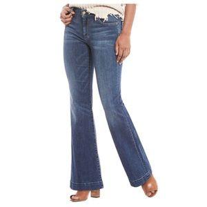7FAM Dojo Wide Leg Jeans Denim 29